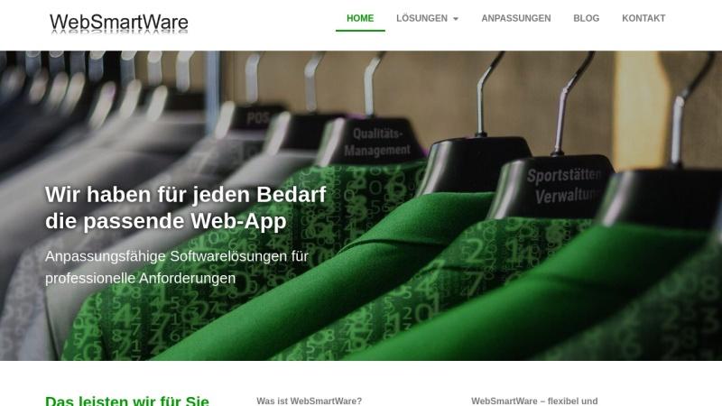www.websmartware.de Vorschau, WebSmartWare