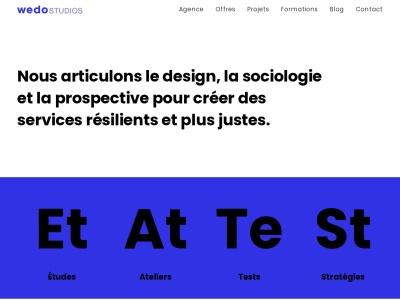 Wedo Studios, spécialiste du design thinking