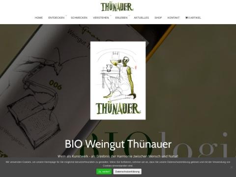 Bioweinbau Thünauer