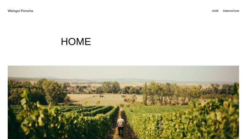 www.weingut-porscha.de Vorschau, Weingut Porscha