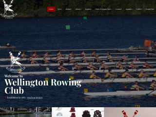 Screenshot for wellingtonrowing.org.nz