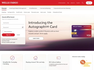 screenshot wellsfargo.com
