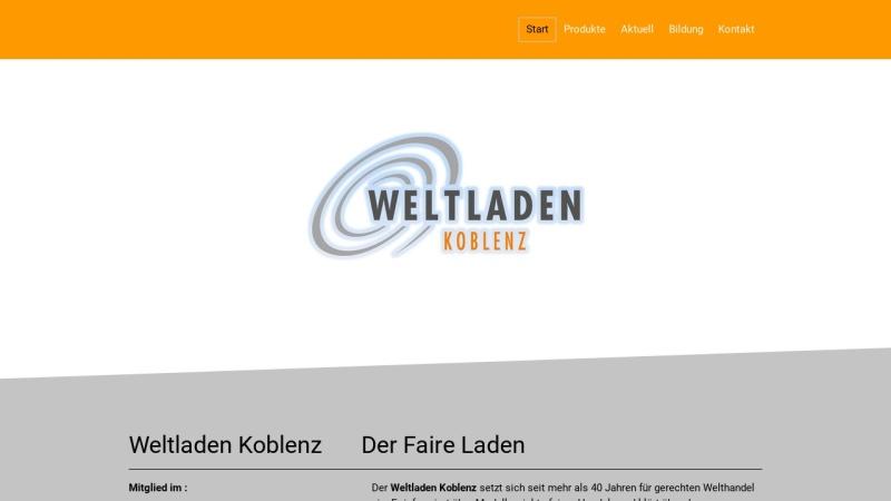 www.weltladen-koblenz.de Vorschau, Gerechte Welt e.V.