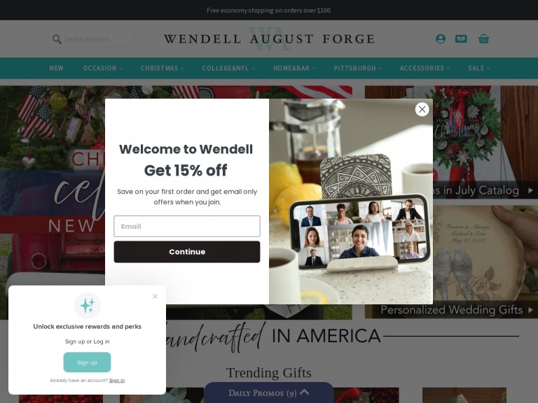Wendell August Coupon Codes