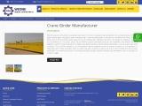Crane Girder Manufacturer in Saudi Arabia