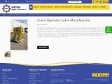 Crane Operator Cabin Manufacturer in Saudi Arabia