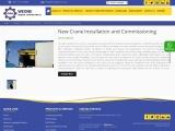 New Crane Installation Service in Saudi Arabia