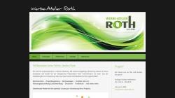 www.werbe-atelierroth.de Vorschau, Werbe-Atelier Roth