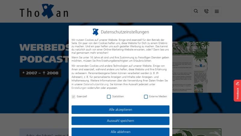 www.werbedschungel-podcast.de Vorschau, Werbedschungel-Podcast