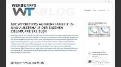 www.werbetipps-blog.com Vorschau, WerbeTipps Blog