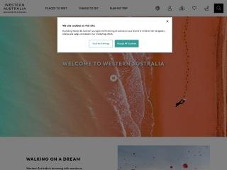 Screenshot for westernaustralia.net
