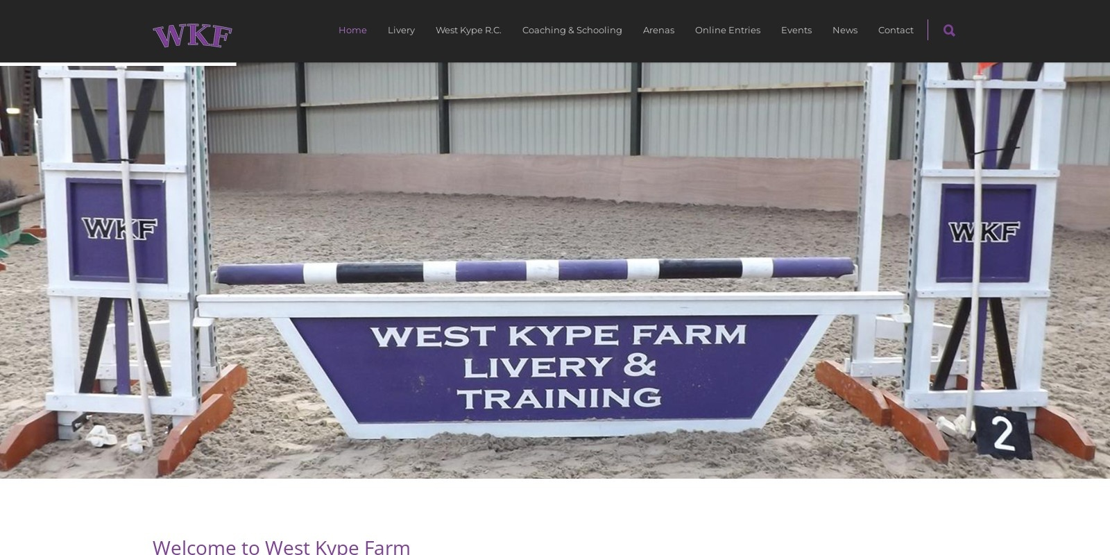 Preview of http://www.westkypefarm.co.uk