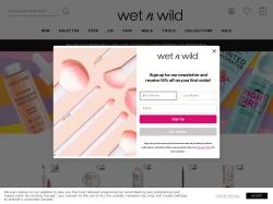 wetnwildbeauty.com screenshot