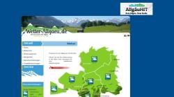 www.wetter-allgaeu.de Vorschau, Wetter im Allgäu und Kleinwalsertal