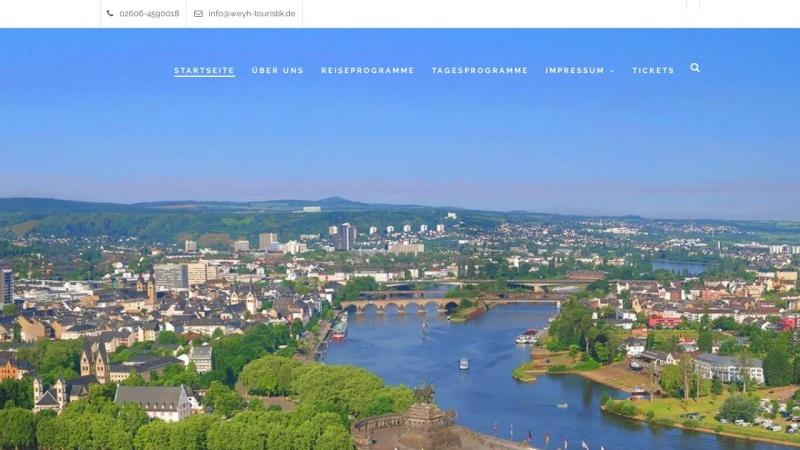 www.weyh-touristik.de Vorschau, Weyh Touristik