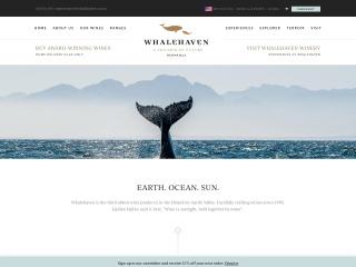 Screenshot for whalehaven.co.za