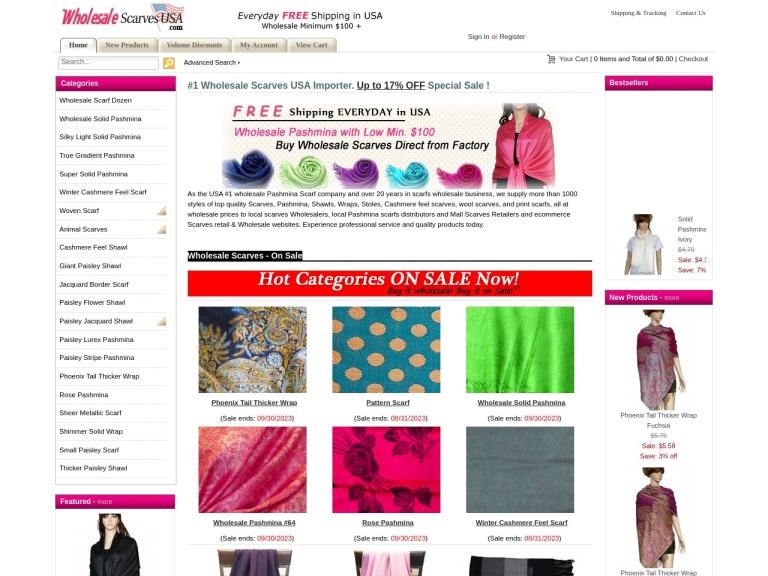 Wholesale Scarves USA Coupon Codes & Promo codes