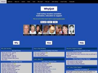 screenshot whyquit.com