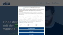www.wihoga.de Vorschau, Wihoga Dortmund - Wirtschaftsschulen für Hotellerie und Gastronomie