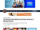 Q&A On Chicago BEars draft with SBN Draft guru Dan Kadar