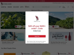 Wine.com screenshot