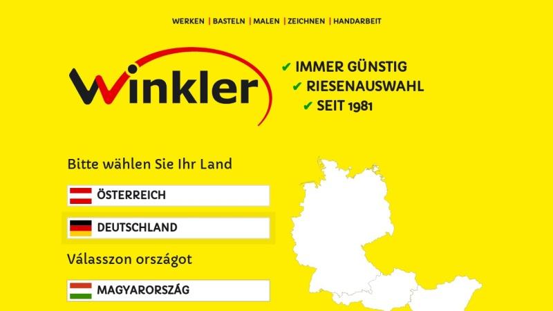 www.winklerschulbedarf.com Vorschau, Winkler Schulbedarf