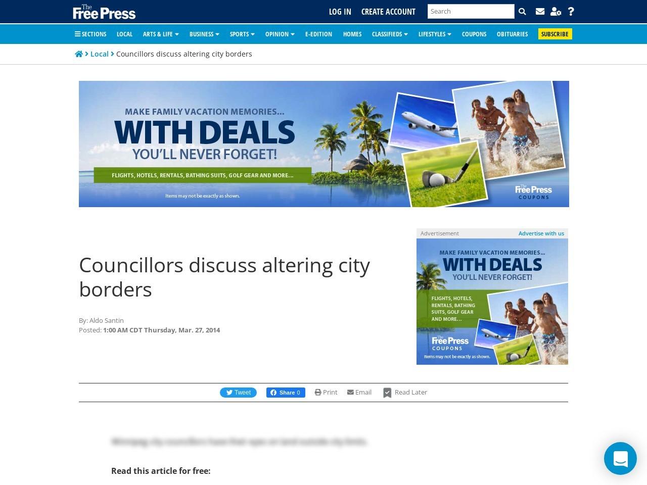 Councillors discuss altering city borders
