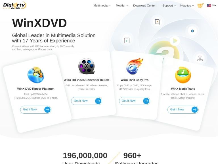 WinxDvd indirim kuponu screenshot
