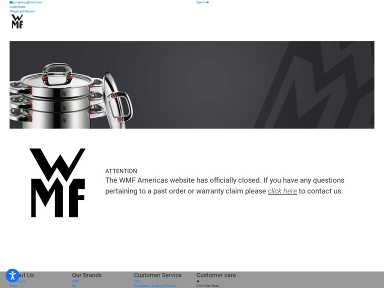 WMF Cookware screenshot