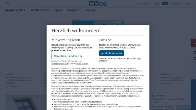 www.wnoz.de Vorschau, Odenwälder Zeitung