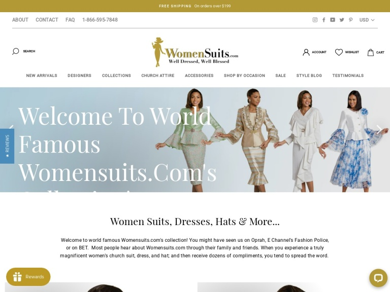 Womensuits.com screenshot