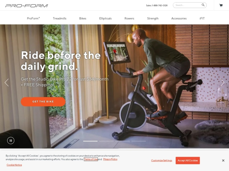ProForm and WorkoutWarehouse by ICON Health and Fitness Coupon Codes