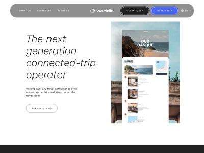 Worldia: plateforme de voyage sur-mesure