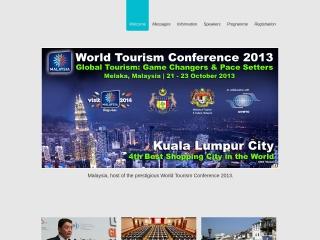 Screenshot bagi wtc2013malaysia.com