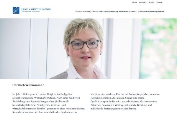 Vorschau von www.wuerth-lindner.de, Ursula Würth-Lindner und Ralf Lindner