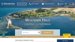 www.wulfenerhals.de Vorschau, Camping- und FerienparkWulfener Hals
