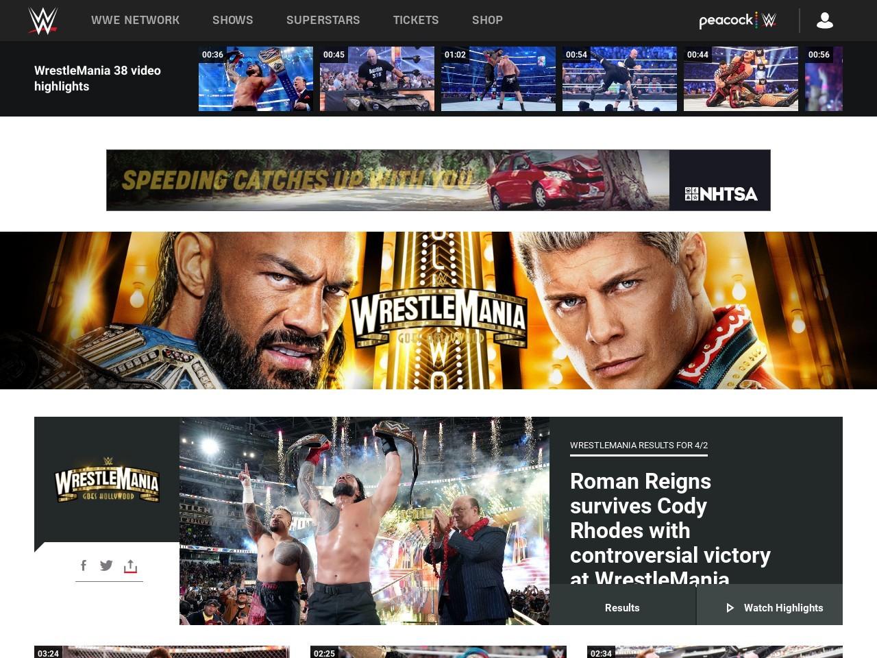 WWE.com: WrestleMania 30 WinMania Sweepstakes