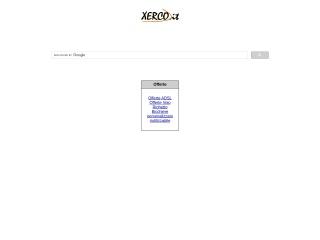 screenshot xerco.it