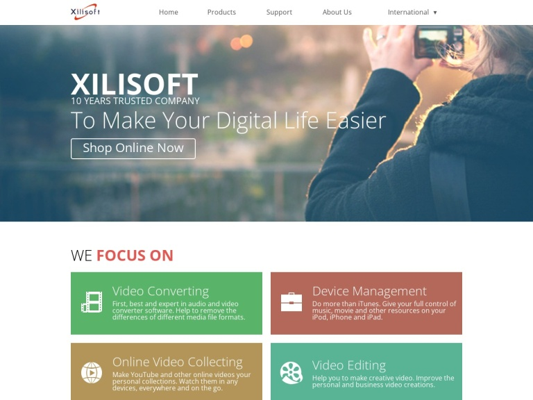 xilisoft Corporation screenshot
