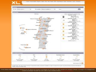 Screenshot do site xl.pt