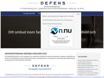 www.advokat-familjerätt.nu