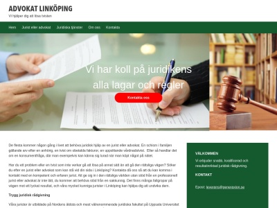 www.advokatlinköping.nu