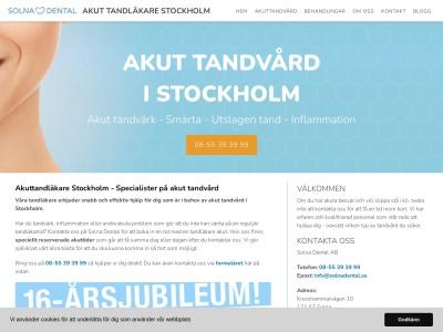 www.akuttandläkarestockholm.net