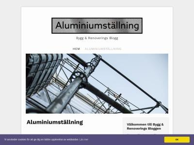 www.aluminiumställning.nu