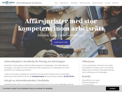 www.arbetsrättsjuriststockholm.se