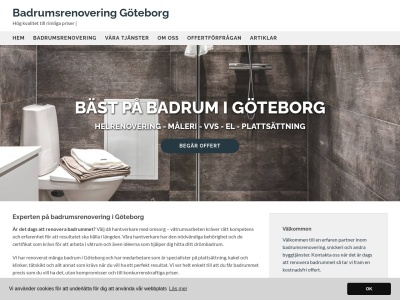 www.badrumsrenoveringigöteborg.se