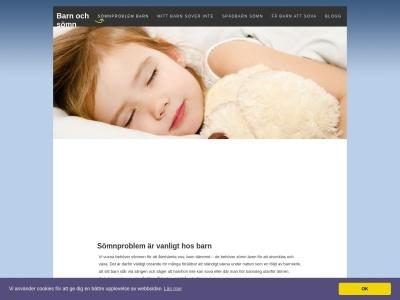www.barnochsömn.se