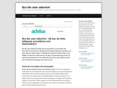 www.bralånutansäkerhet.nu