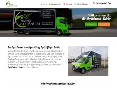 www.flyttfirmaeslöv.se