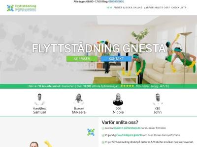 www.flyttstädgnesta.se